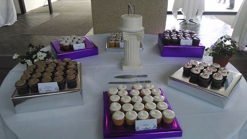 cup cake on thier display