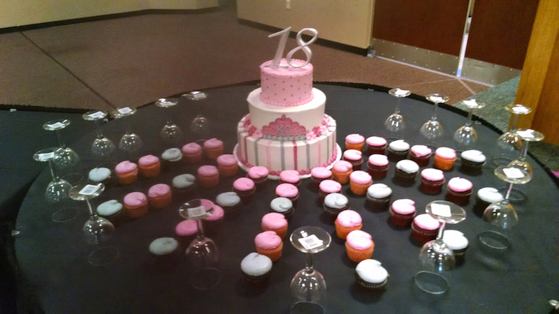 cup cake tree sept 2014 4