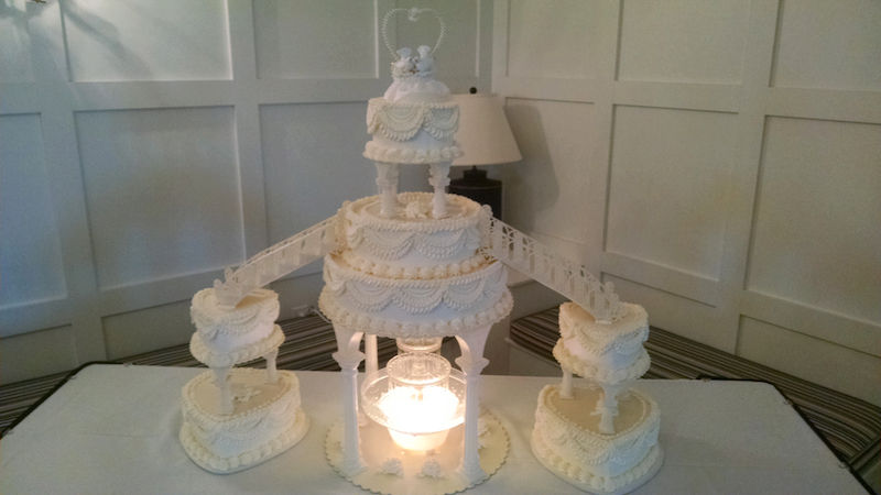 traditional fountain cake aug 2014