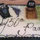 Rest in Peace Cake